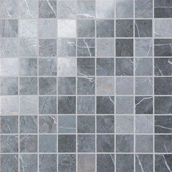 Mosaikfliese Marazzi Evolutionmarble grey 30 x 30 cm
