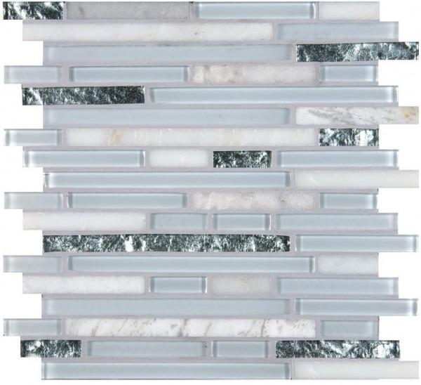 Mosaikfliese Cristallo 30,5 x 30,5 cm