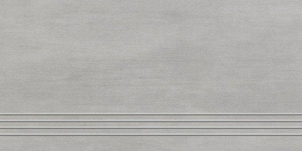 Stufenfliese Grohn Rondo grau 30 x 60 cm