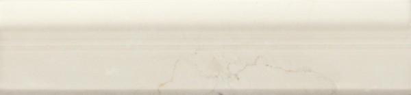 Bordürenfliese Marazzi Marbleline marfil 5 x 22 cm