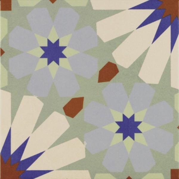 Bodenfliese Pamesa Arte Cassatt multicolor 22,3 x 22,3 cm
