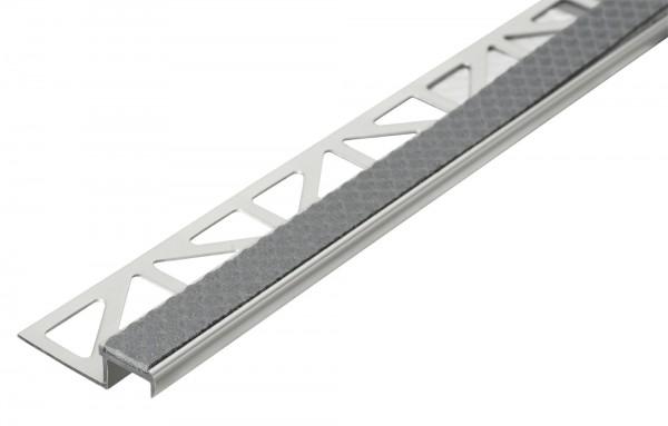 Treppenkantenprofil Dural 11 mm stahlgrau DISTAE 11113 250 cm