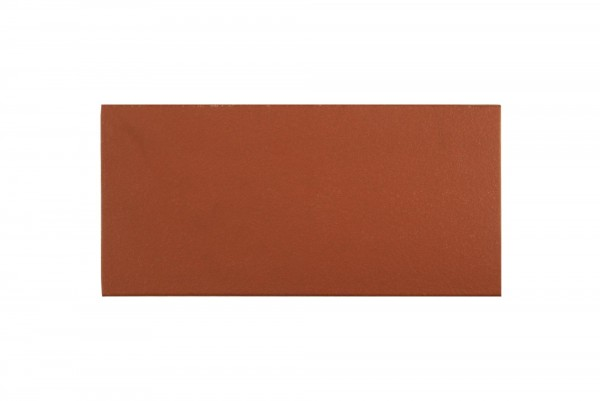 Bodenfliese Spaltplatte Uni rot 11,5 x 24 cm