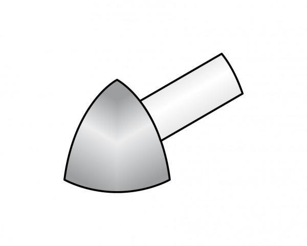 Aussenecke Dural 12,5 mm Alu eloxiert RO 1251-B