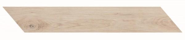 Bodenfliese Marazzi Treverkmust Chevron white 11,8 x 73,2 cm