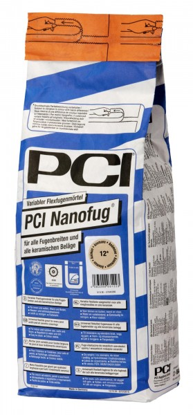 Fugenmörtel PCI Nanofug silbergrau 4 kg