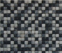 Mosaikfliese Nero mix 30 x 30 cm