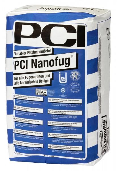 Fugenmörtel PCI Nanofug silbergrau 15 kg