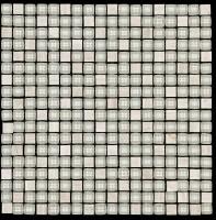 Mosaikfliese Chill white 30 x 30 cm