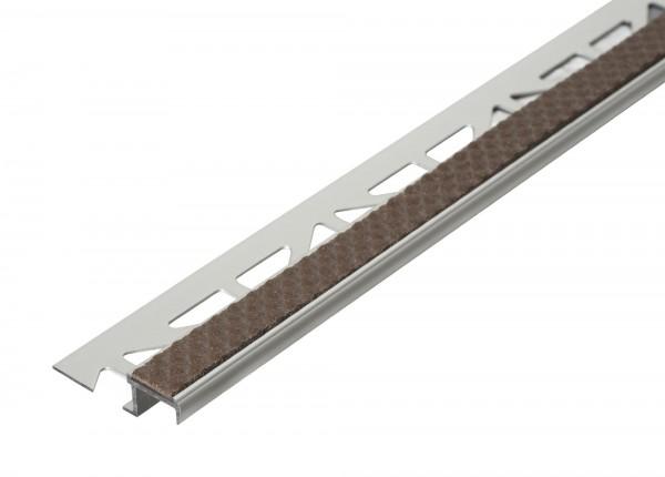 Treppenkantenprofil Dural 11 mm Kakao DISTAE 11109 250 cm