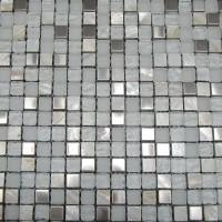 Mosaikfliese Meringa weiß Mix 30 x 30 cm