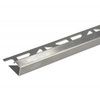 Quadratprofil Dural 12,5 mm Edelstahl Feinschliff LAC 1272 2 250 cm