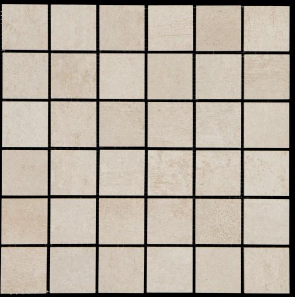 Mosaikfliese Bitumen beige 30 x 30 cm