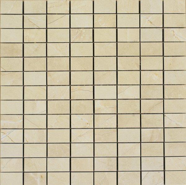 Mosaikfliese Marazzi Evolutionmarble golden cream 30 x 30 cm