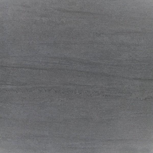Bodenfliese Ermes Aurelia Kronos nero lappato 60 x 60 cm