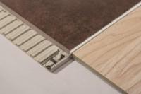 Winkelprofil Dural 8 mm Alu natur DSA80 100 cm