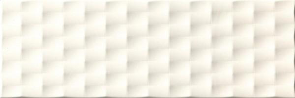 Wandfliese Ascot Lumen ivory pyramid lux 25 x 75 cm