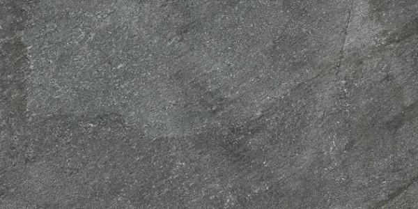 Bodenfliese Ermes Aurelia Quartz Stone black grip 30 x 60 cm