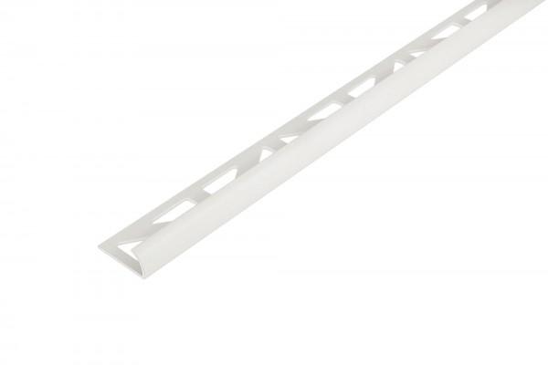 Rundprofil Dural 12,5 mm PVC weiß glänzend DBP 1230-S 250 cm
