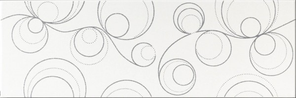 Dekorfliese Ascot Lumen glitter silver 25 x 75 cm