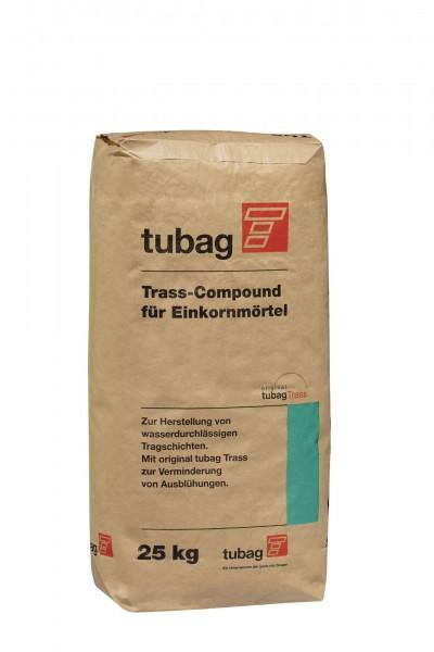 Pflasterfugenmörtel Tubag Trass-Compound TCE f. Einkornmörtel 25 kg