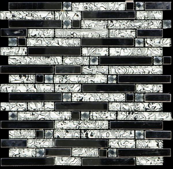 Mosaikfliese Diamond Sea Wave 804 29,8 x 30,4 cm
