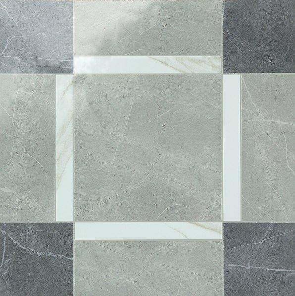 Dekorfliese Marazzi Evolutionmarble tafu grey 58 x 58 cm