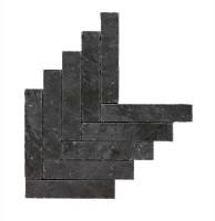 Mosaikfliese Marazzi Mystone Ardesia antracite 44,9 x 61,6 cm