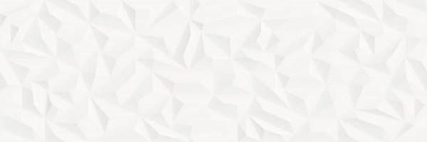Dekorfliese Baldocer Space Neve Satin weiß matt 40 x 120 cm