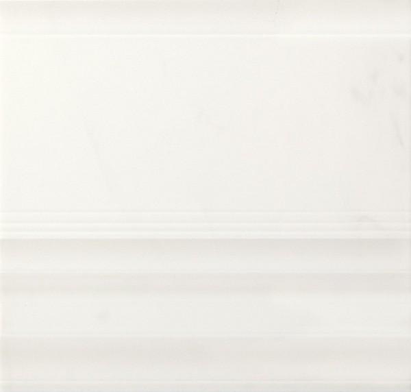 Bordürenfliese Marazzi Marbleline calacatta 22 x 21 cm