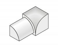Innenecke Dural 10 mm Alu eloxiert RO 1051-C