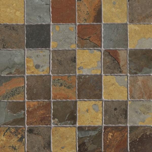 Mosaikfliese Ermes Aurelia Flagstone Multicolor matt 30 x 30 cm