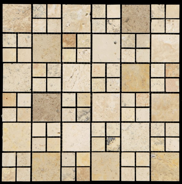 Mosaikfliese Elegance beige 30 x 30 cm