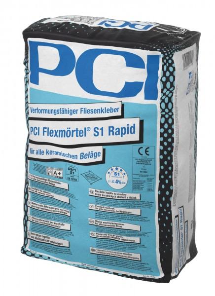 Fliesenkleber PCI Flexmörtel S1 Rapid 20 kg