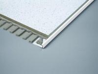 Winkelprofil Dural 12,5 mm PVC weiß DSP1230 250 cm