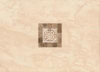 Dekorfliese Meissen Agia beige 25 x 35 cm