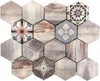 Mosaikfliese Trend Seven Alu Brushed 30 x 30 cm