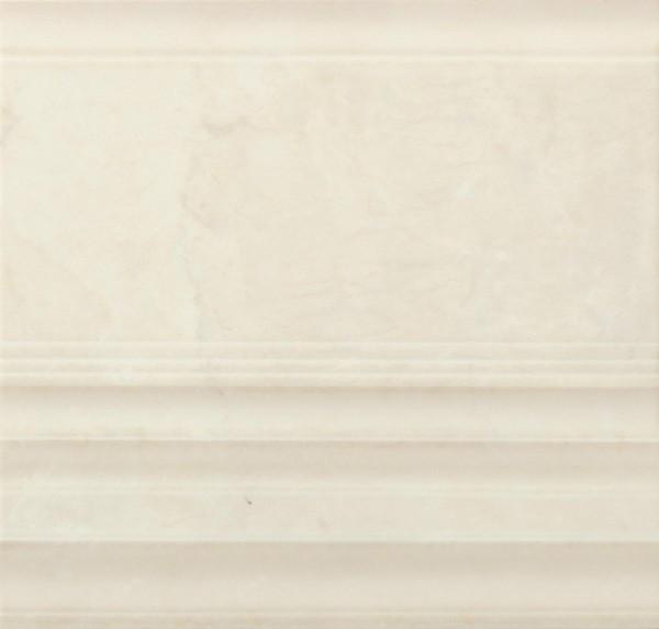 Bordürenfliese Marazzi Marbleline marfil 22 x 21 cm