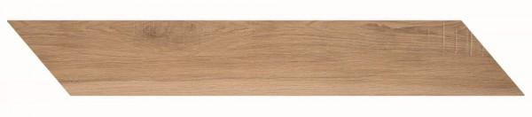Bodenfliese Marazzi Treverkmust Selection Chevron beige 11,8 x 73,2 cm