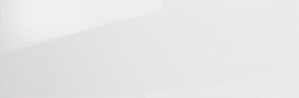 Wandfliese Tira weiß gestreift 30 x 90 cm