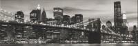 Dekorfliese Ascot Lumen white New York 25 x 75 cm
