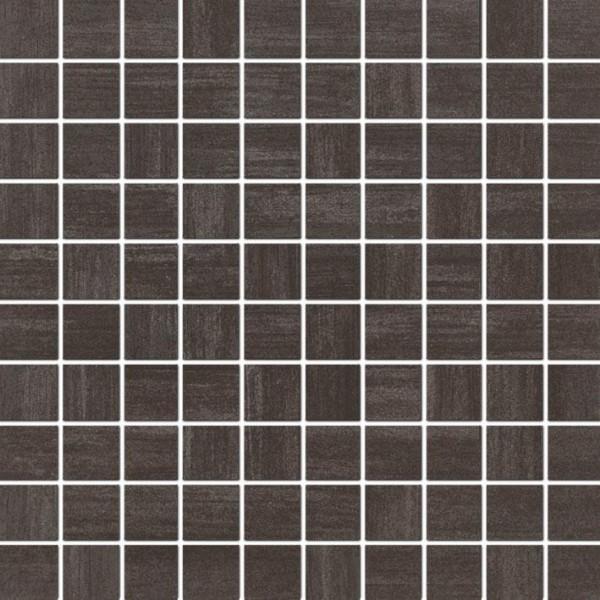 Mosaikfliese Grohn Rondo anthrazit 30 x 30 cm