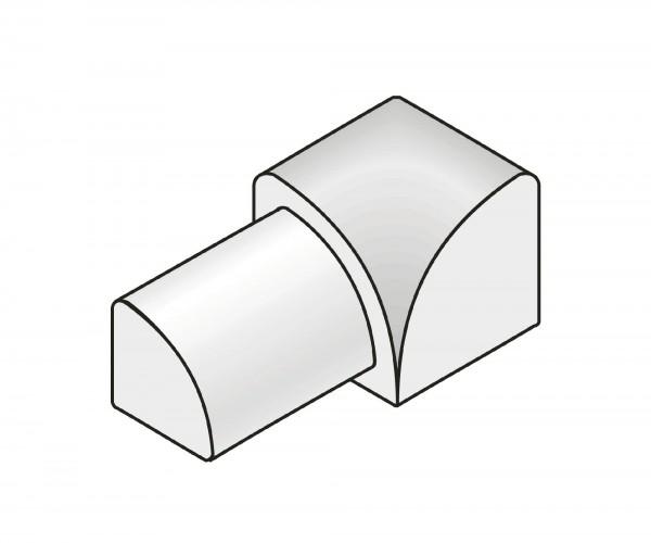 Innenecke Dural 10 mm Edelstahl Imitat RO 1070-C1-DC