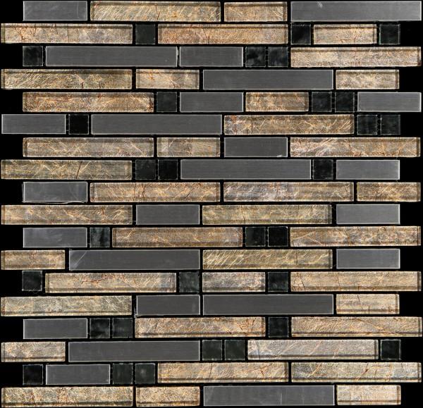 Mosaikfliese Diamond gold 805 29,8 x 30,4 cm