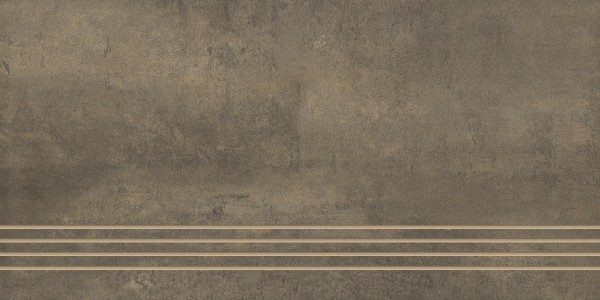 Stufenfliese Grohn Iron rostbraun 30 x 60 cm