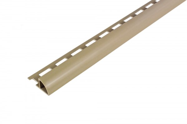 Rundprofil Dural 10 mm PVC beige ROG 1002 250 cm